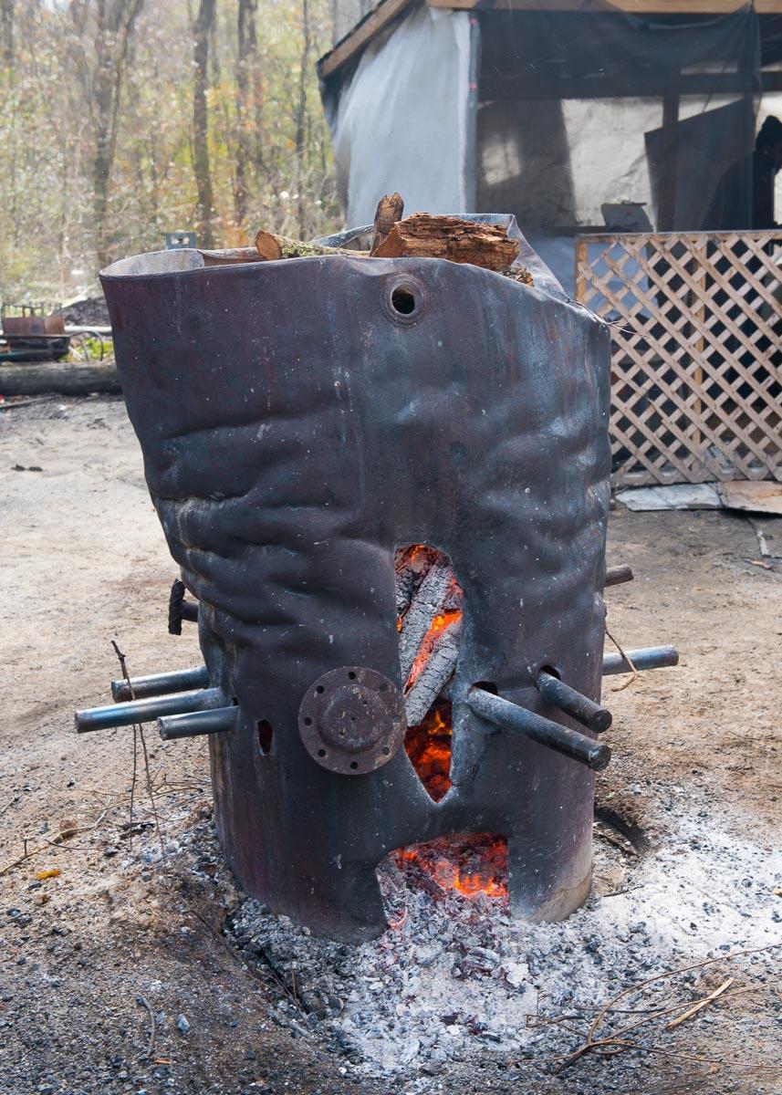 The Burn Barrel, the Heat Source