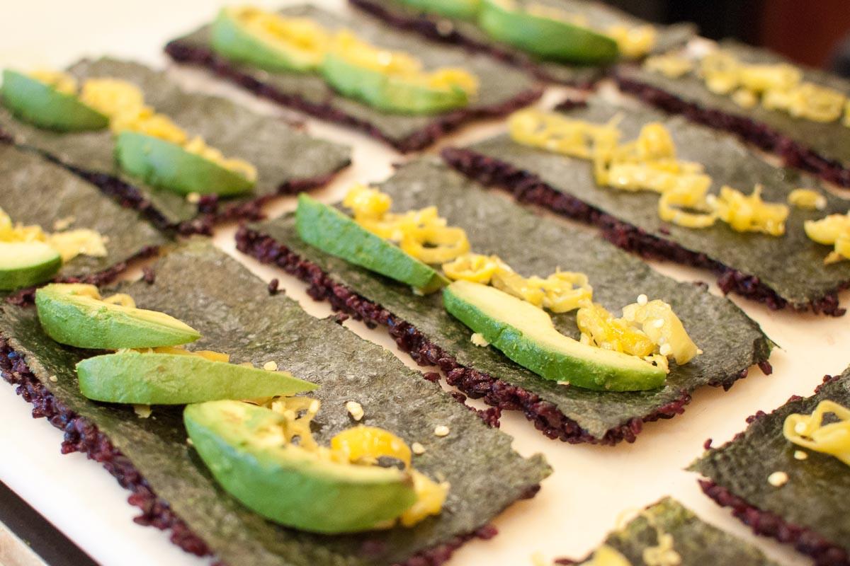 Making Fish-less Sushi