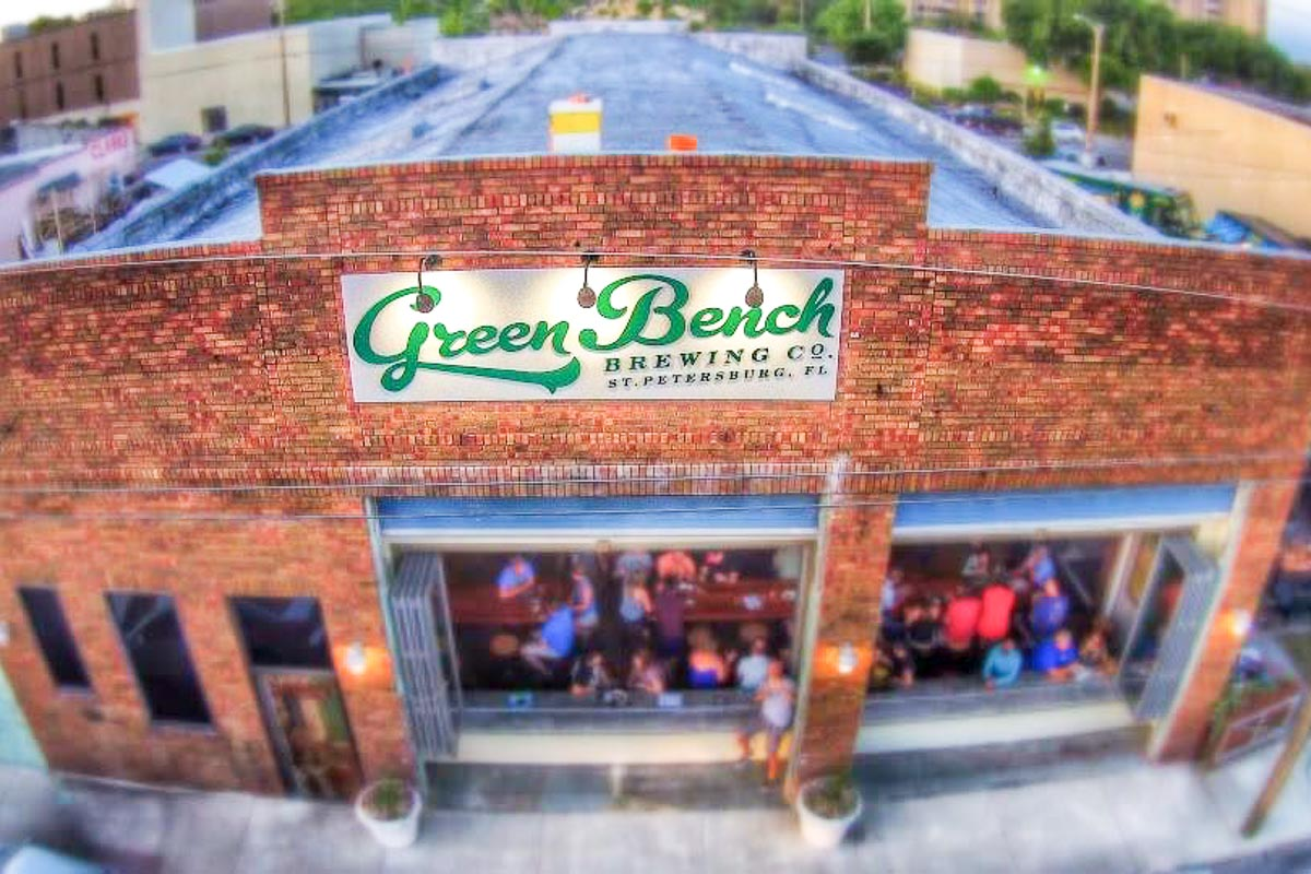 Photograph courtesy of Green Bench Brewing Co
