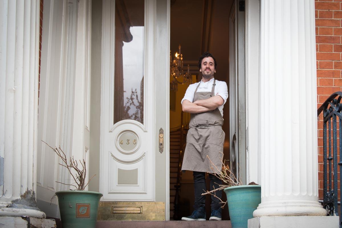 Chef James Sharman