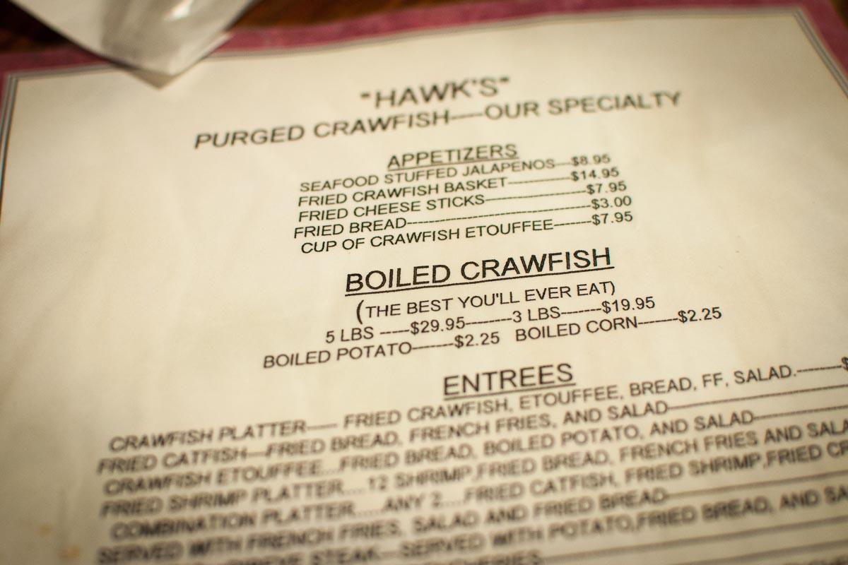 Crawfish, Crawfish, and Crawfish