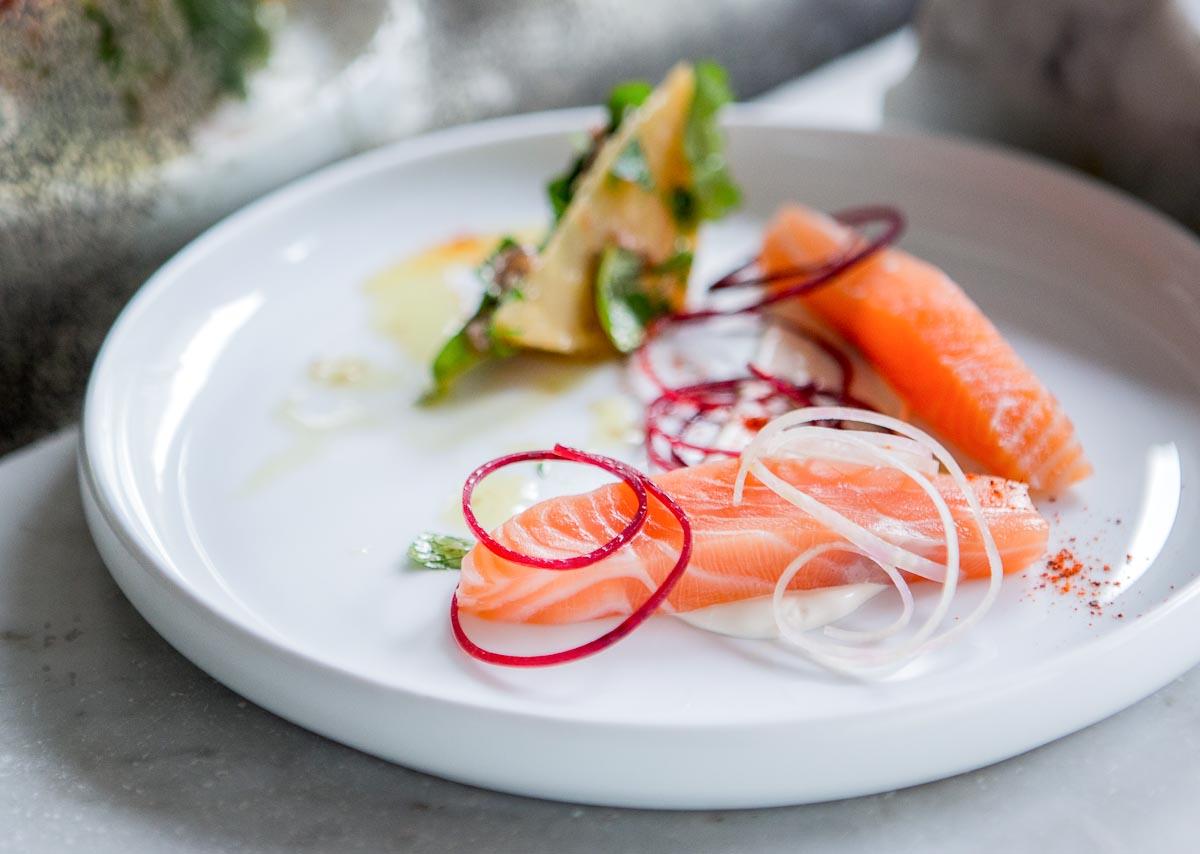 Salmon at Papillon | Photo Credit: Pierre Monetta