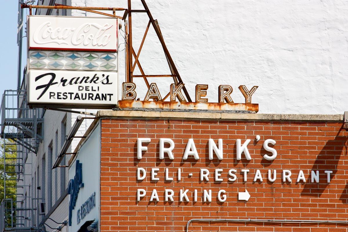 Frank's Deli & Restaurant   Photo Credit: Peem5ter {flickr]