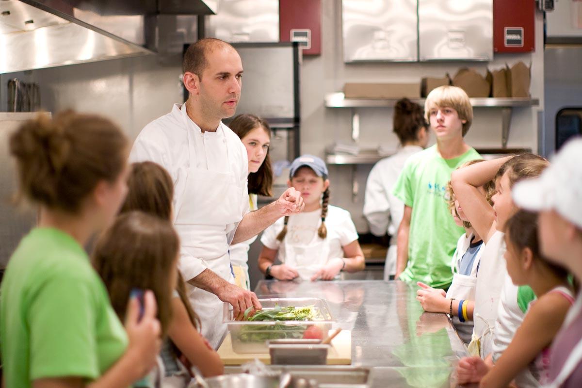 Chef Adam Kaye at Stone Barns |Photo Credit:Jen Munkvold