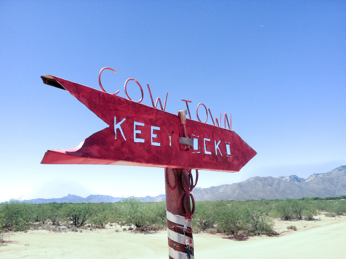 Photograph courtesy of Cowtown Keeylocko