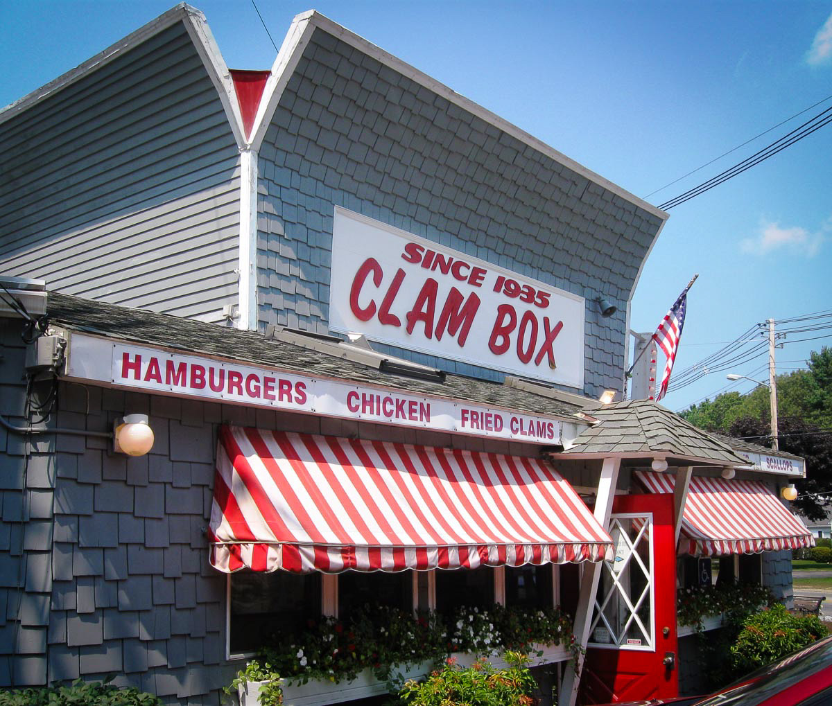 The Clam Box | Photo Credit: Ed [flickr]