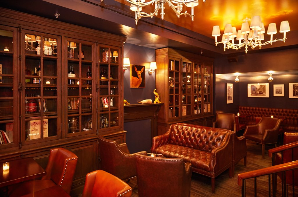 Spirits Library | Photograph courtesy of The Columbia Room