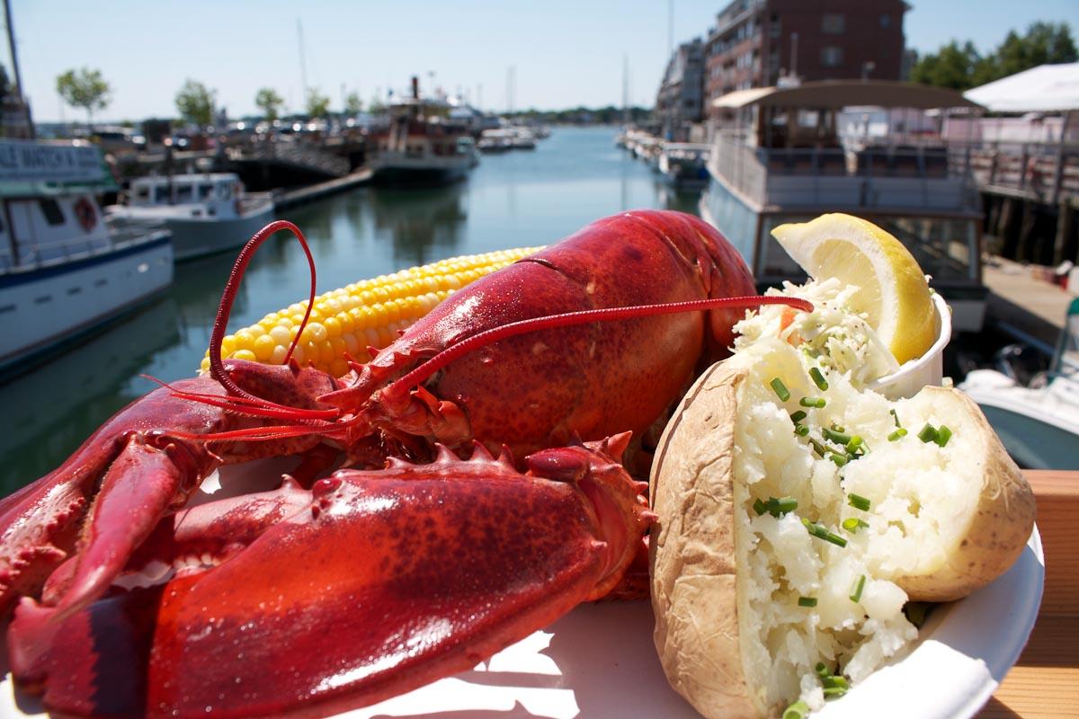 Photograph courtesy of Portland Lobster Company