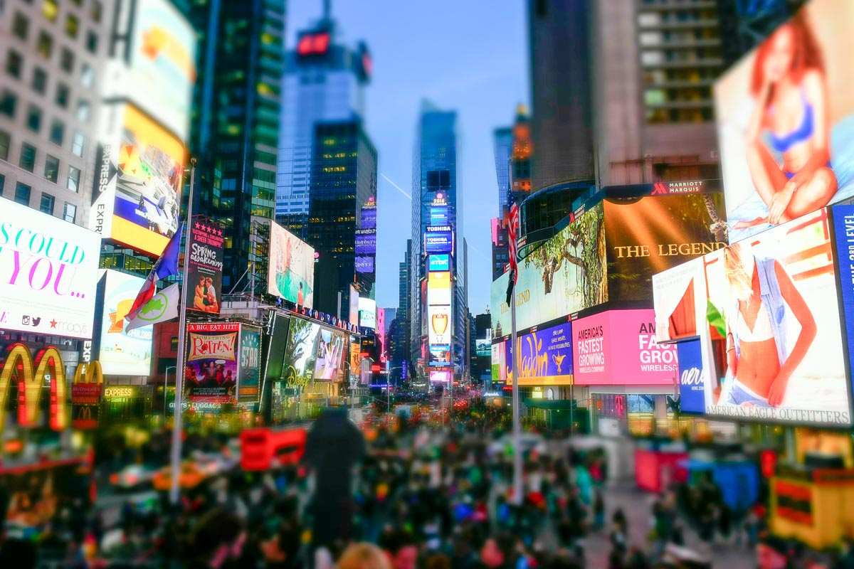 Times Square | Photo Credit: ©Find. Eat. Drink.