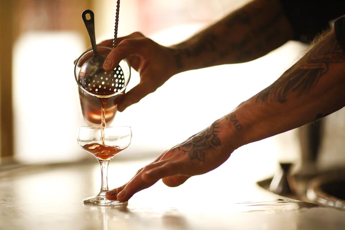 Cocktails at Hotel Delmano | Photograph courtesy of Hotel Delmano