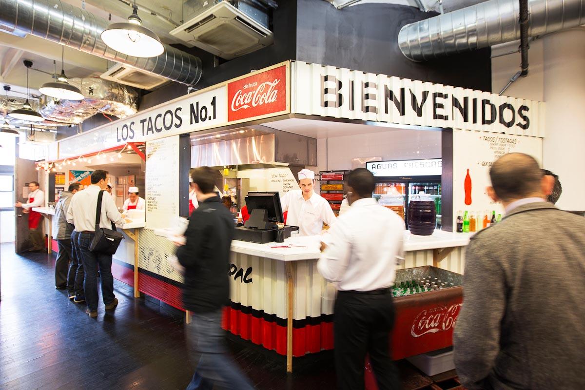 Photograph courtesy of Los Tacos No. 1
