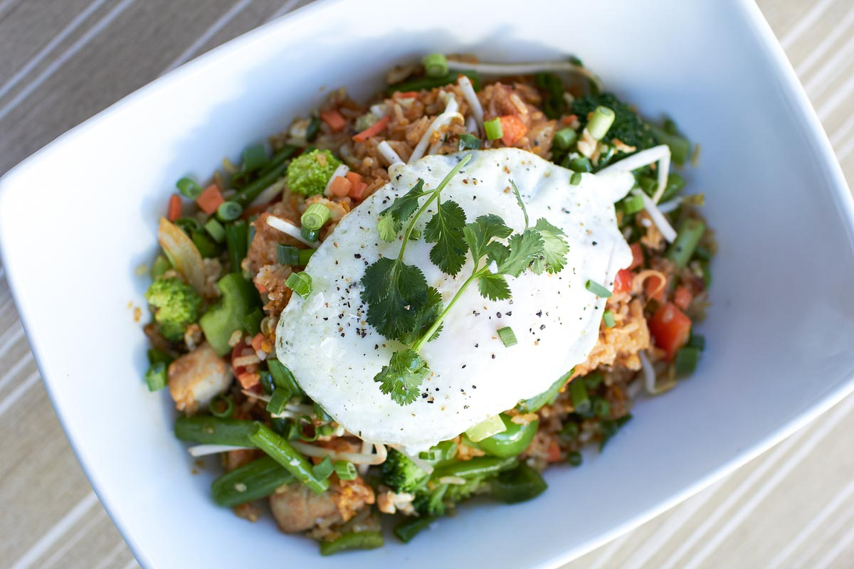 Street Rice at Malai Kitchen | Photo Credit:Kevin Marple