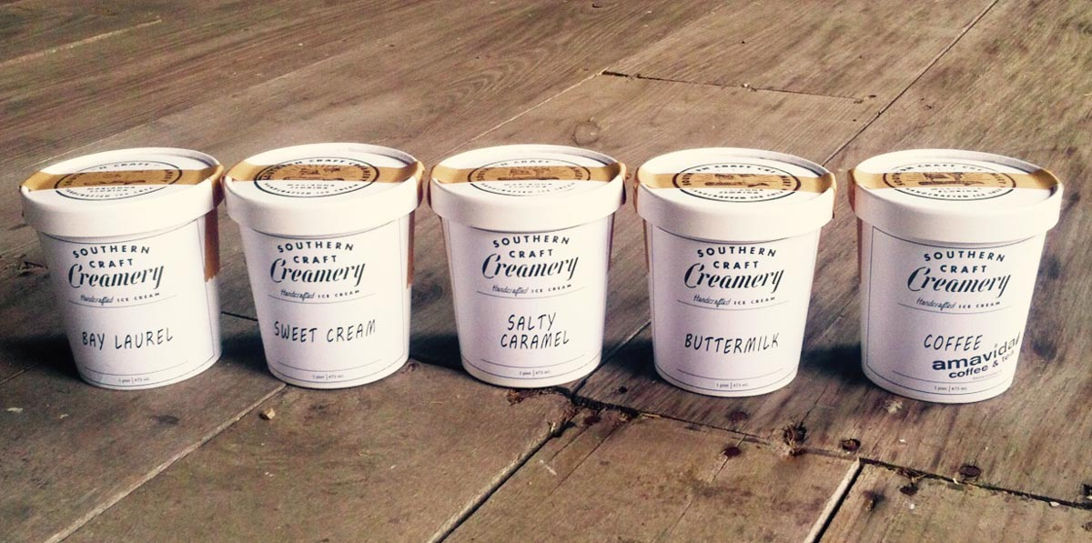 Photograph courtesy of Southern Craft Creamery
