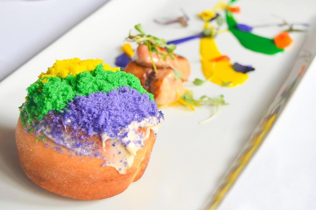 Mardi Foie King Cake | Photograph courtesy of Kingfish
