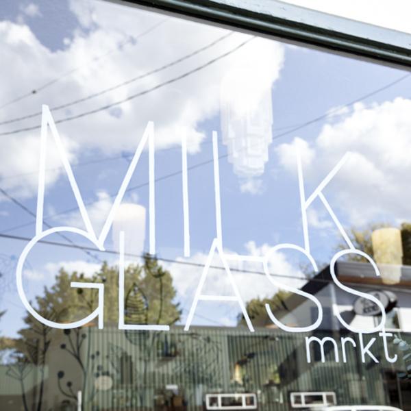 Photographs courtesy of Milk Glass Market