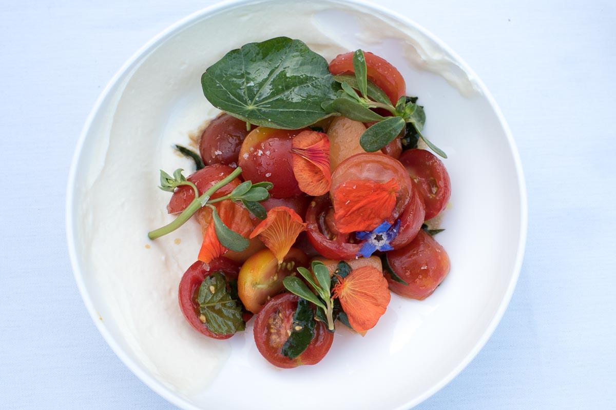 Summer Tomato Salad @ Mezze | Photo Credit: ©Find. Eat. Drink.
