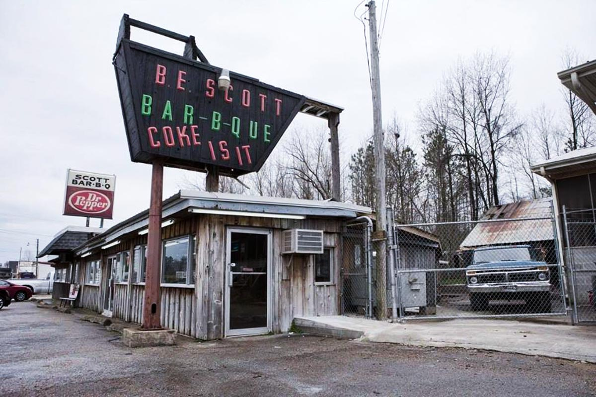 Photograph courtesy of Scott's-Parker's Barbeque