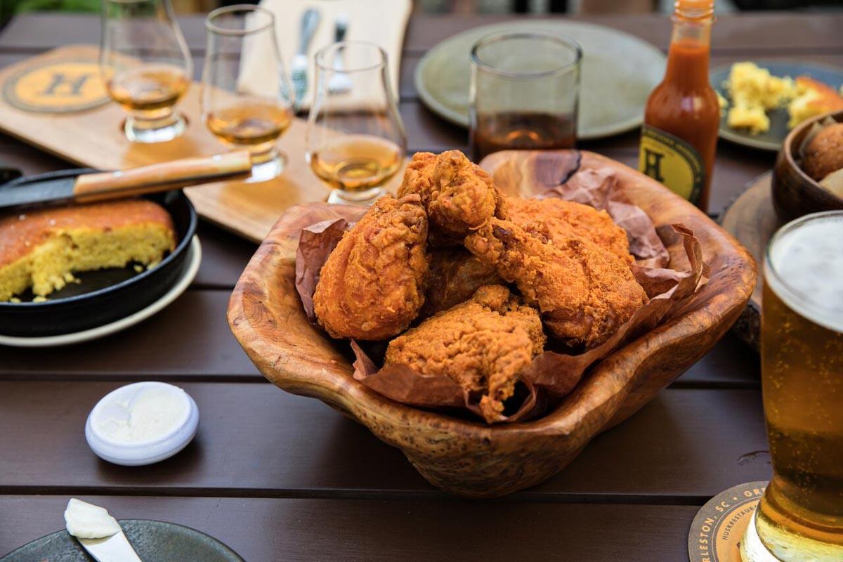 Fried Chicken at Husk | Photo Credit: Andrew-Cebulka