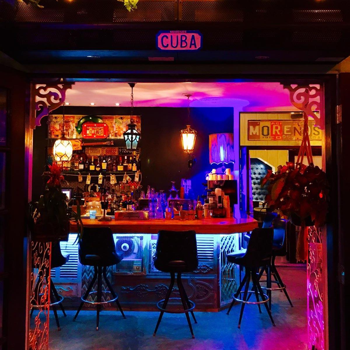Photographs courtesy of Moreno's Cuba