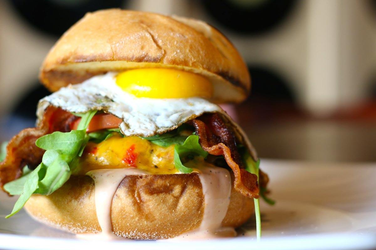 Hamburger at CharBar | Photographs courtesy of CharBar