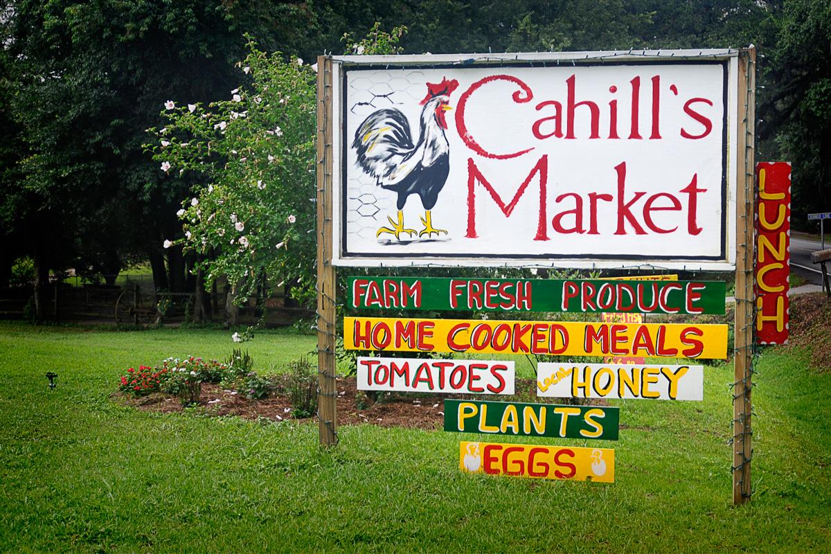 Photograph courtesy of Cahill's Market