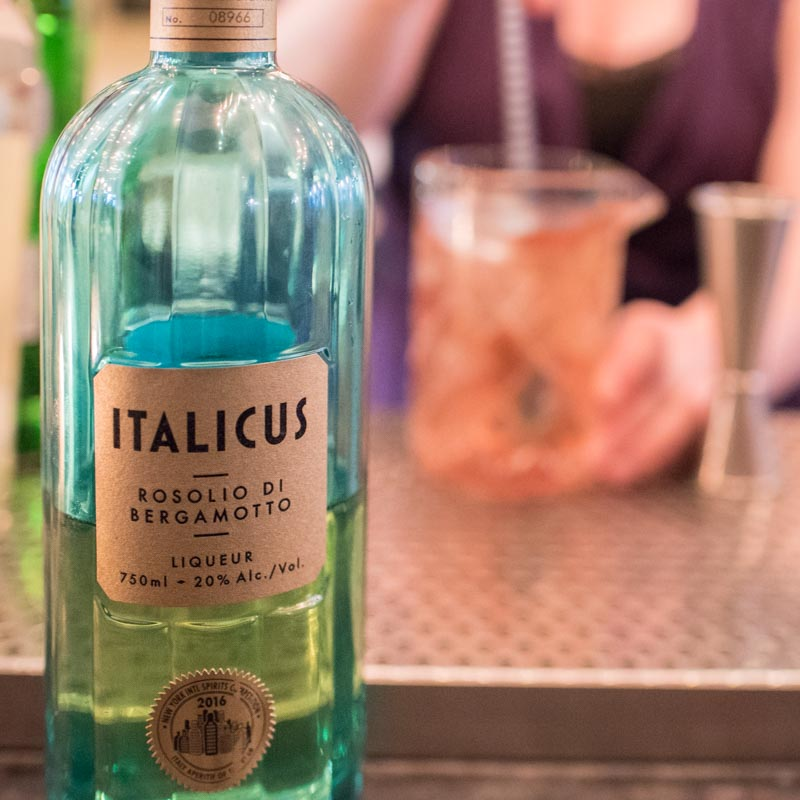Italicus & Bartender Meaghan Dorman at The Bennett in NYC. Photo Credit: ©Find. Eat. Drink.