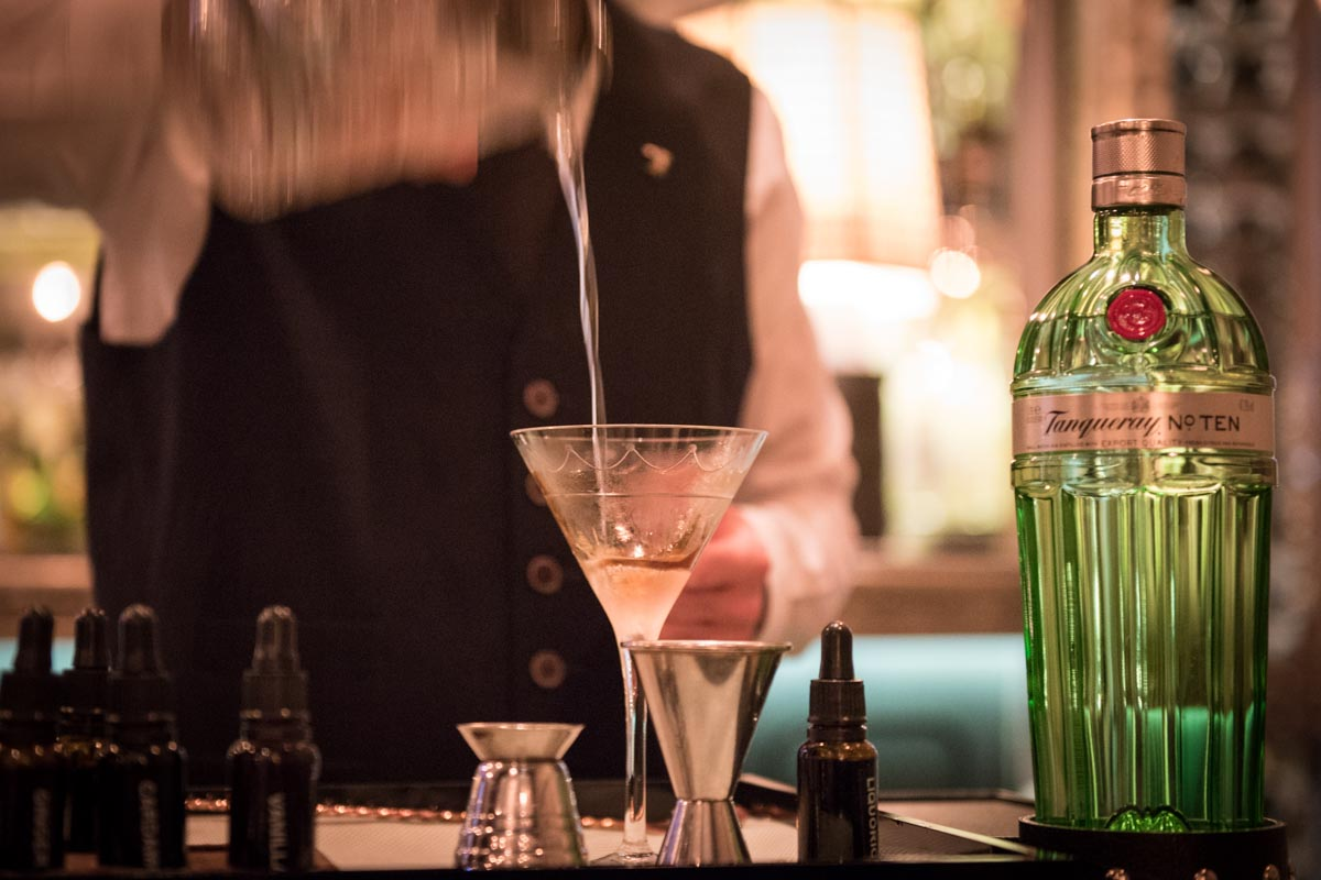 Tanqueray No. Ten Martini at The Connaught Bar Photo Credit: ©Find. Eat. Drink.
