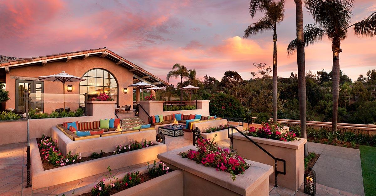 Photograph courtesy of Rancho Valencia Resort