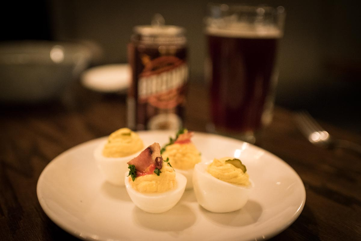 Deviled Eggs at Odette | Photo Credit: ©Find. Eat. Drink.