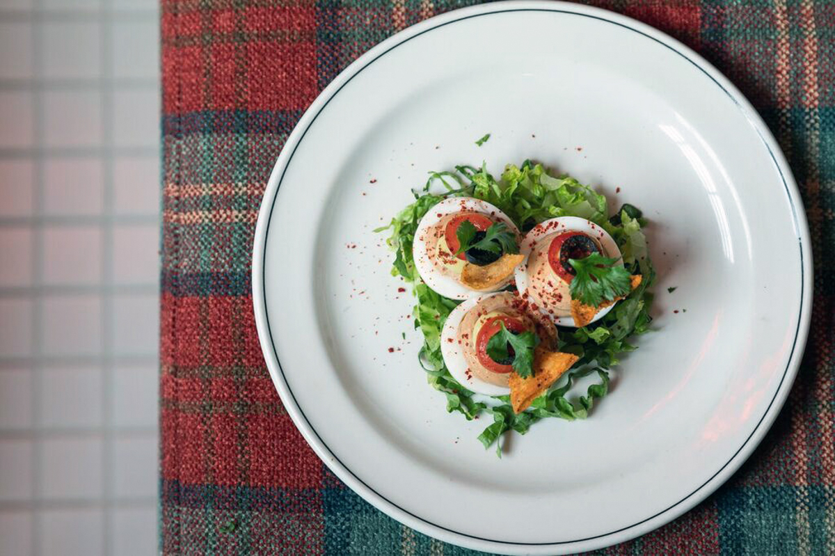 Seven Layer Deviled Egg | Photograph courtesy of Second Best