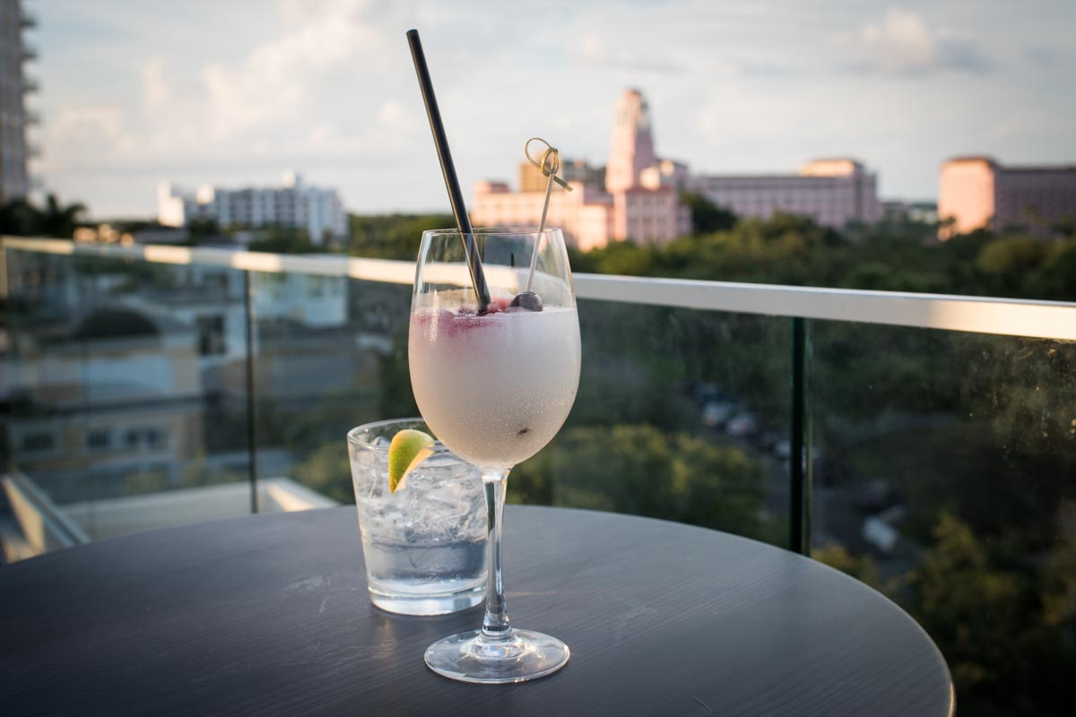 Glorious sunset views and fruity cocktails at The Canopy | Photo Credit: ©Find. Eat. Drink.