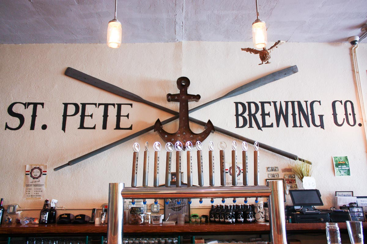 Photograph courtesy of St. Pete Brewing Co.