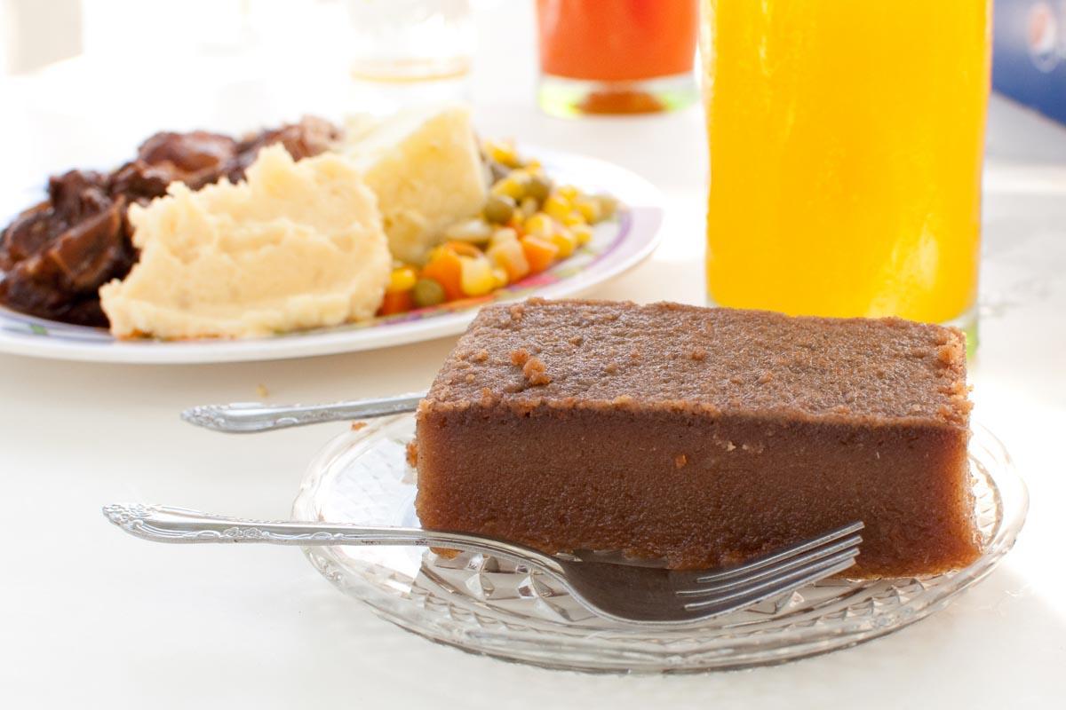 Cassava Cake at Vivine's Kitchen |  Photo Credit: ©Find. Eat. Drink.