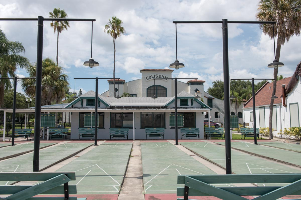 St. Petersburg Shuffleboard Club |  Photo Credit: ©Find. Eat. Drink