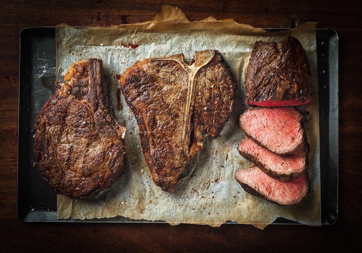 Steaks at Hawksmoor | Photograph courtesy of Hawksmoor