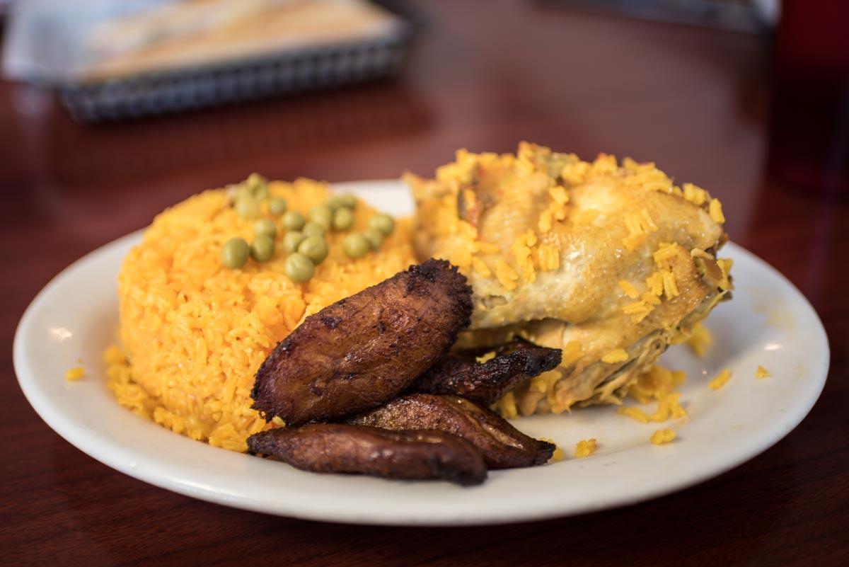 Arroz con pollo at Arco Iris | Photo Credit: ©Find. Eat. Drink.