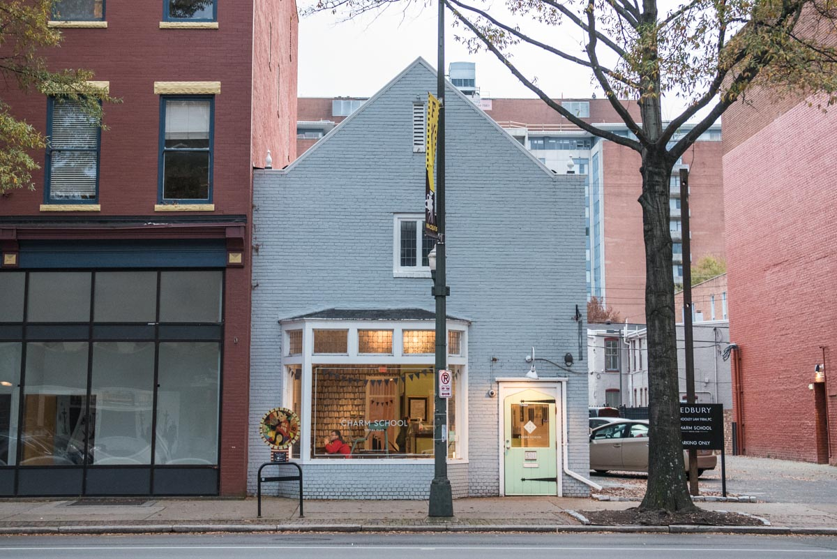 The Charm School Social Club on West Broad Street  | Photo Credit: ©Find. Eat. Drink.