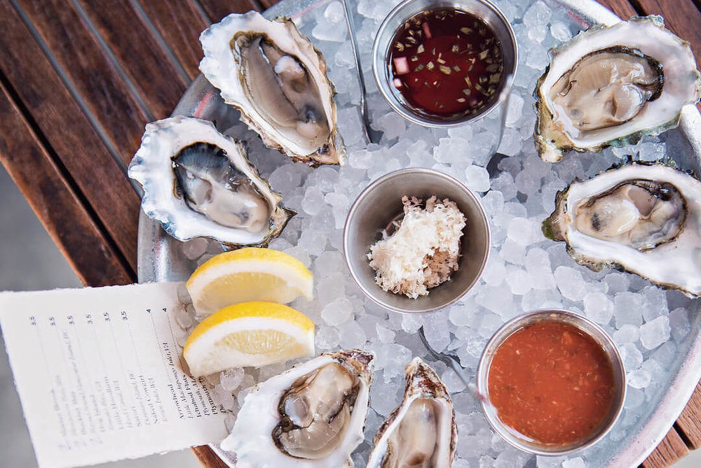 Photograph courtesy of L & E Oyster Bar