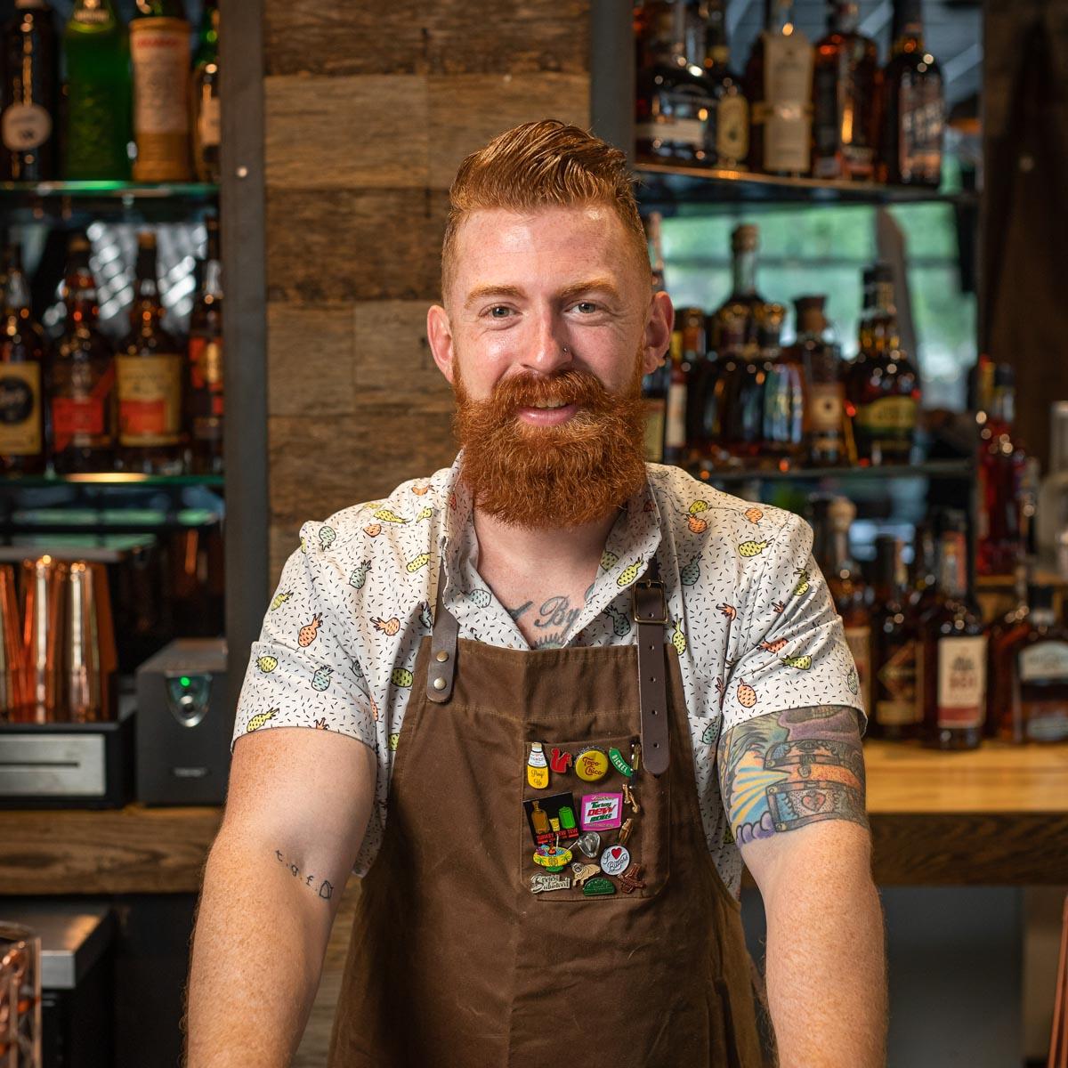 Bartender Tyler Rothenberg