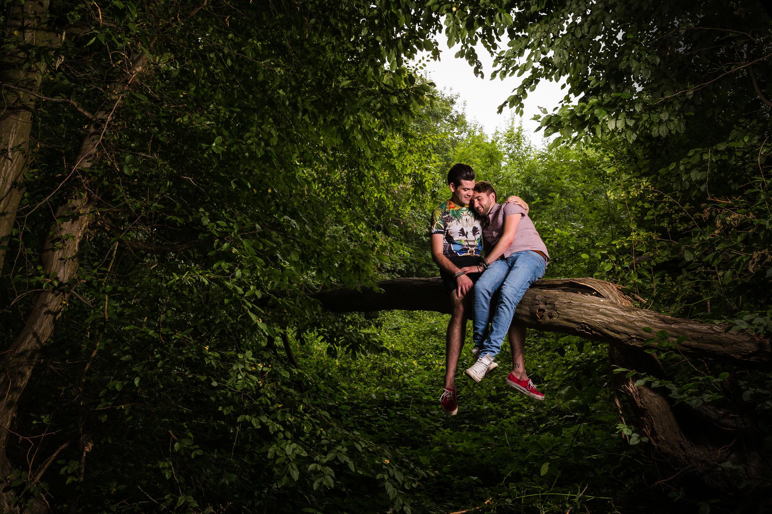 Kent - Couple - Maidstone - Couple - Edward & Andrew – Epic forest