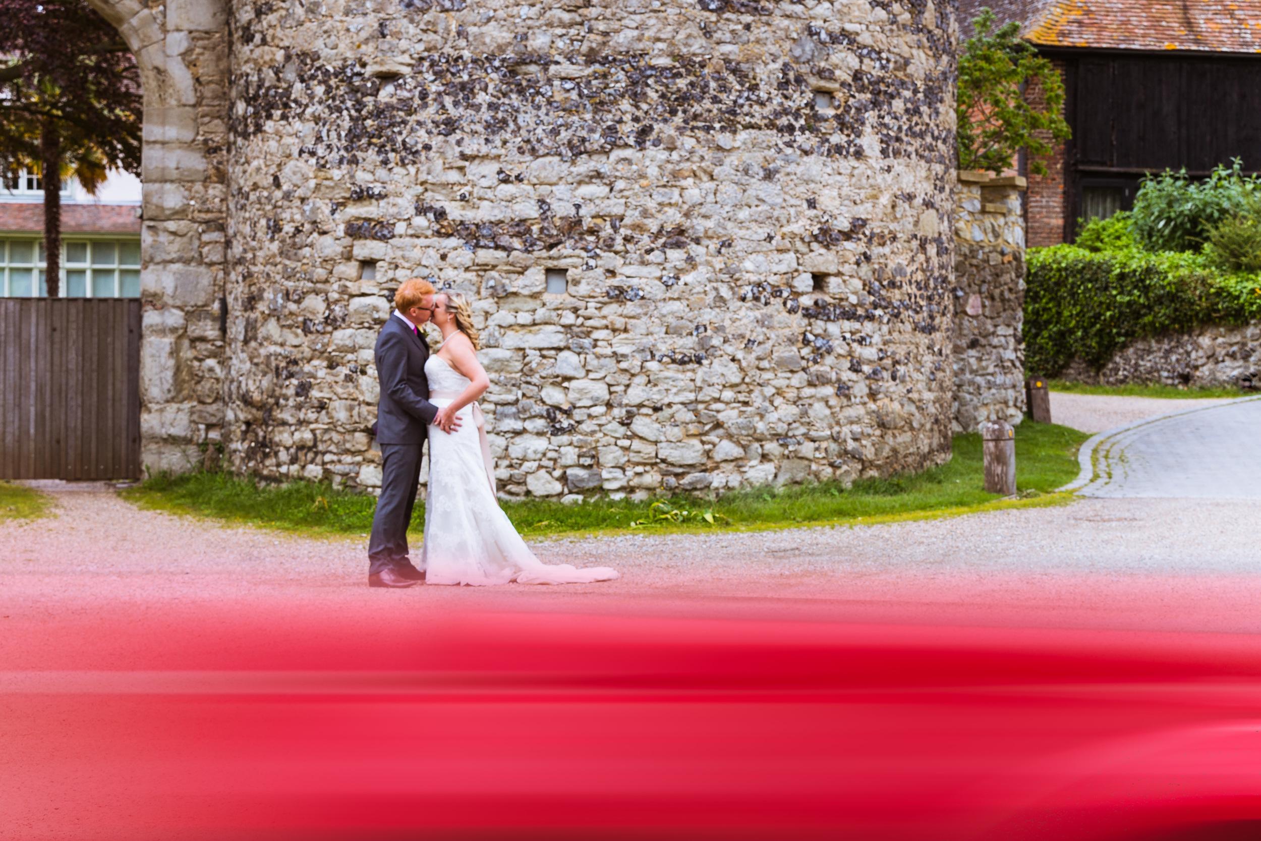 Cooling Castle Barn - Kent Wedding Photographer