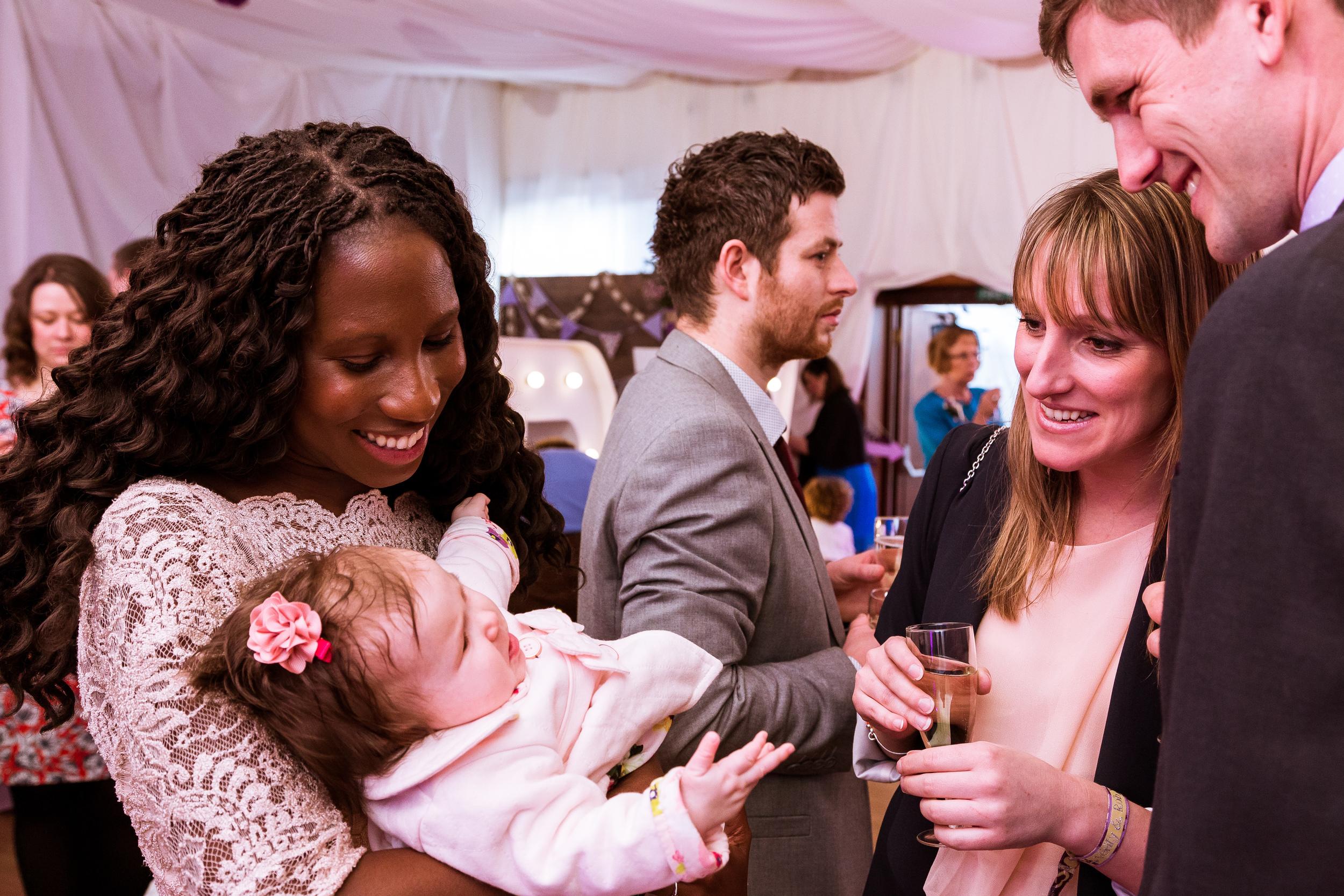 Wedding Reception Photos at Wood Church near Ashford