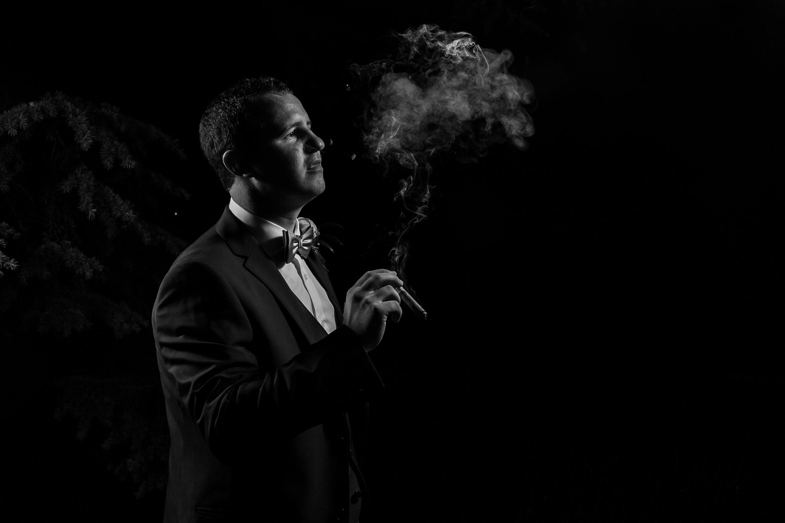 Kent - Wedding – High Rocks - Tunbridge Wells - Katey & Matt - The Final Cigar