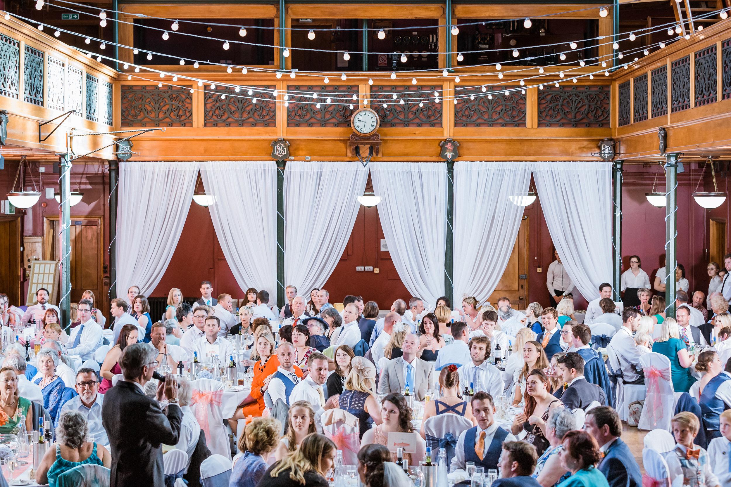 Kent - Wedding – Salomons Estate Tunbridge Wells - Alex & Amanda – Speeches Whole Room