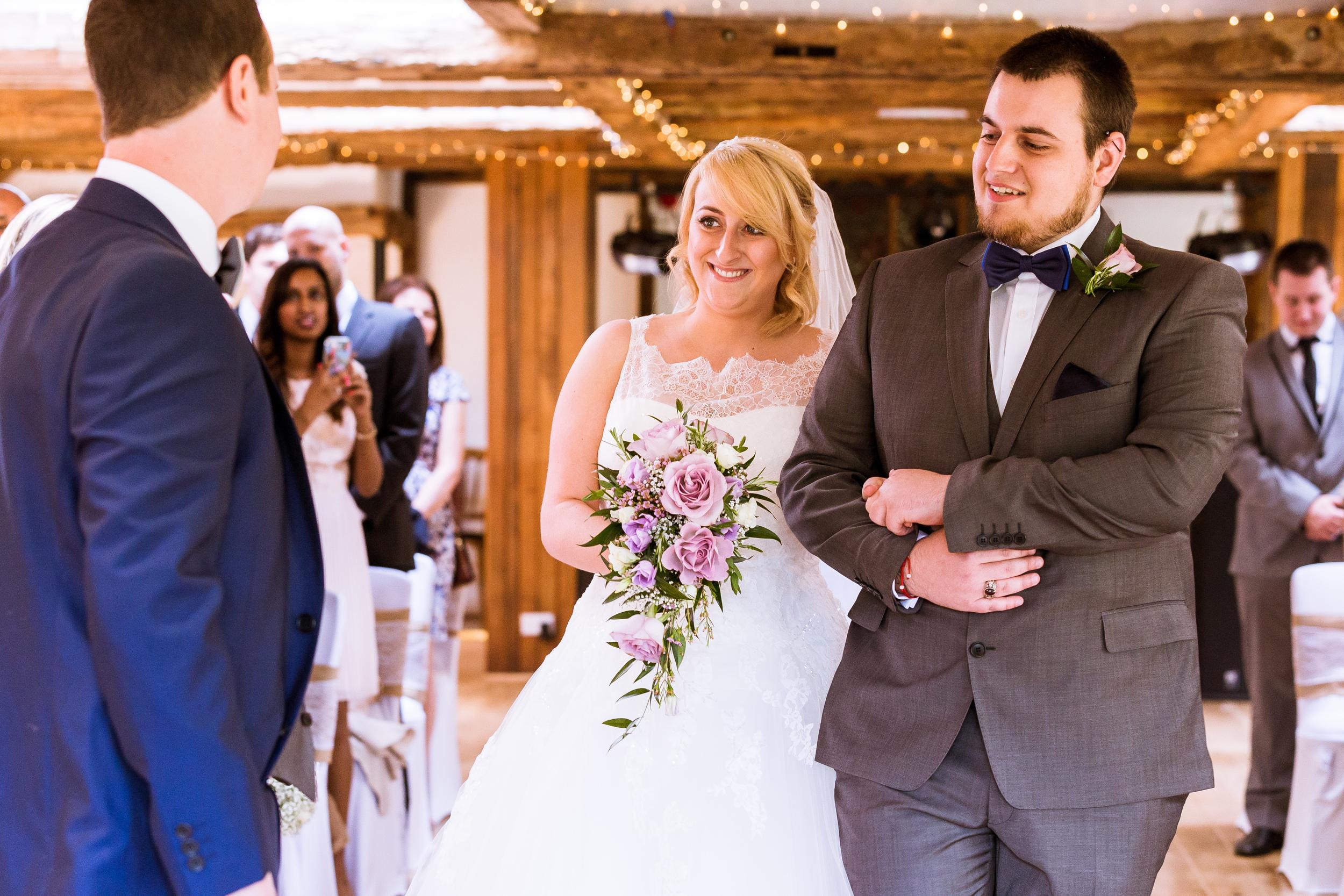 Kent - Wedding – High Rocks - Tunbridge Wells - Katey & Matt– Into the dress