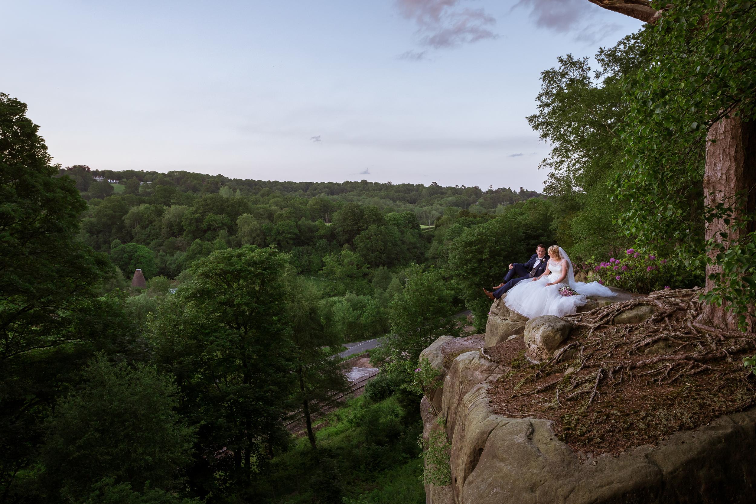 Kent - Wedding – High Rocks - Tunbridge Wells - Katey & Matt– Epic Shot