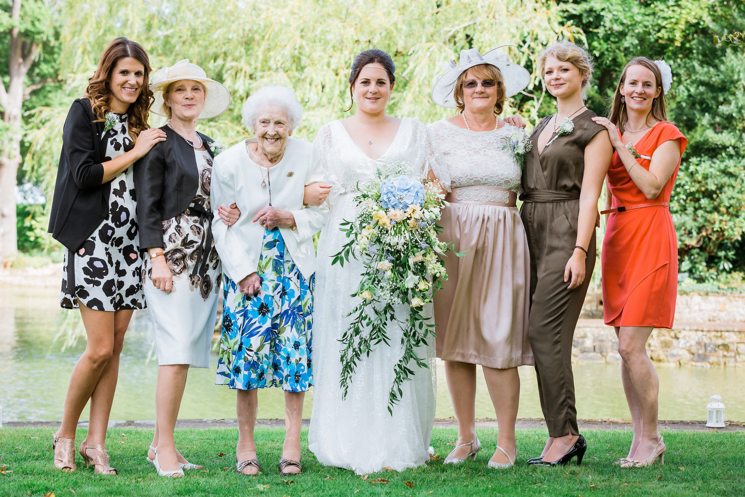 Kent - Wedding – Starborough manor - Caz & Col – The Family Photo