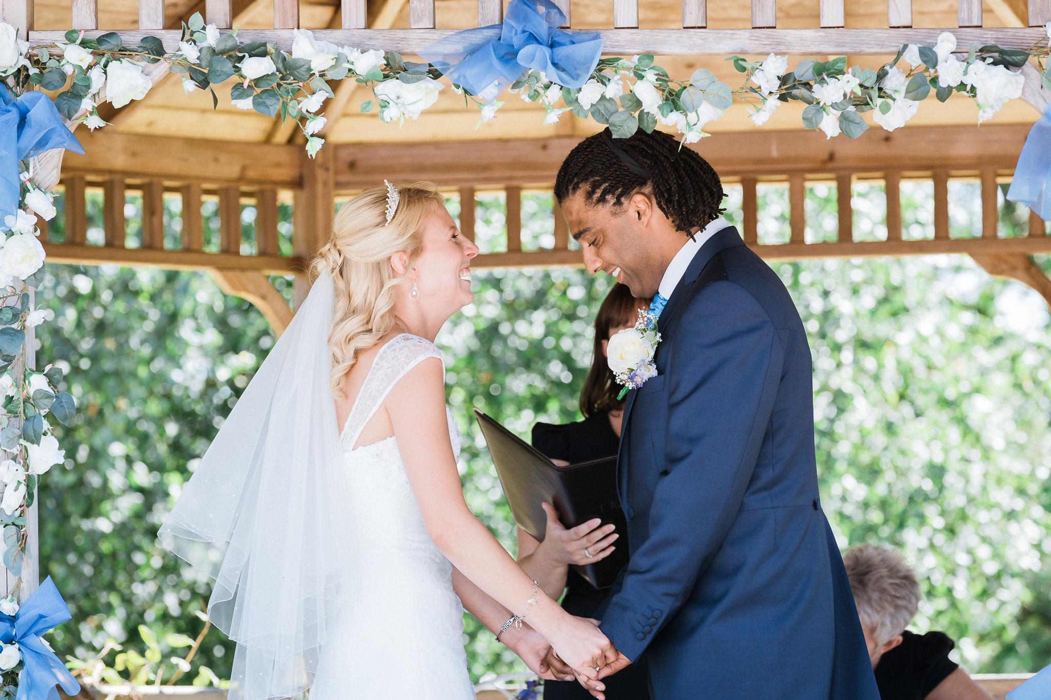 Kent - Wedding – Great Danes Hotel - Matt & Danielle  – Ceremony