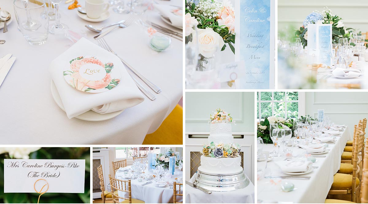 Kent Wedding Details at Starbourgh Manor