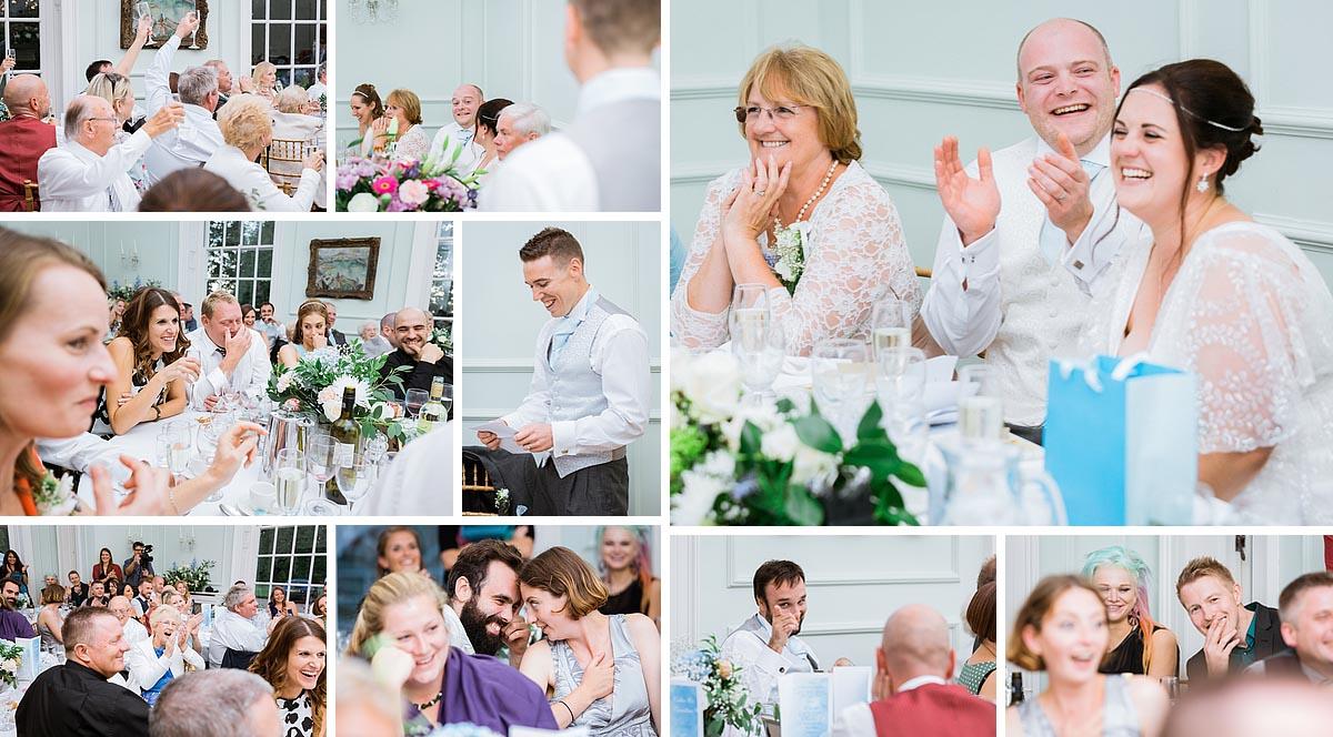 Speeches at a Kent Wedding